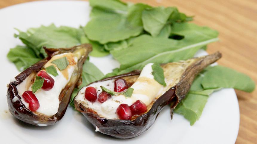 Rosetta'a Mini Eggplants with Sheep's Cheese By Elena Reygadas