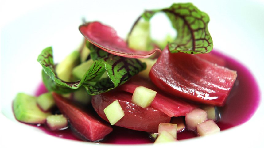 Oven Roasted and Fermented Beets By Jair Téllez