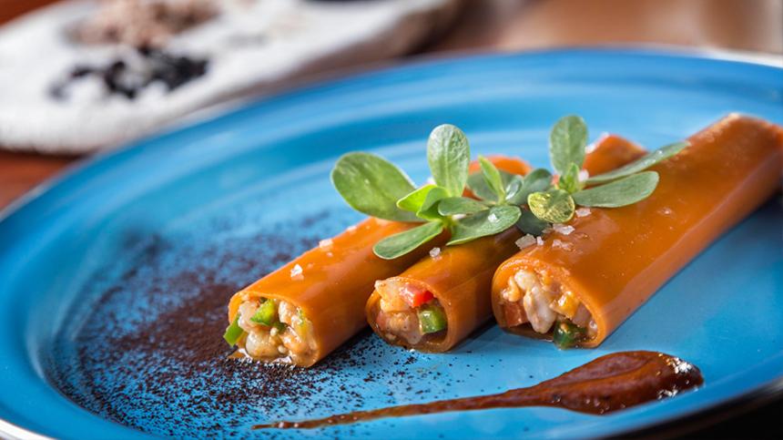 Chapulín's Carrot Tacos