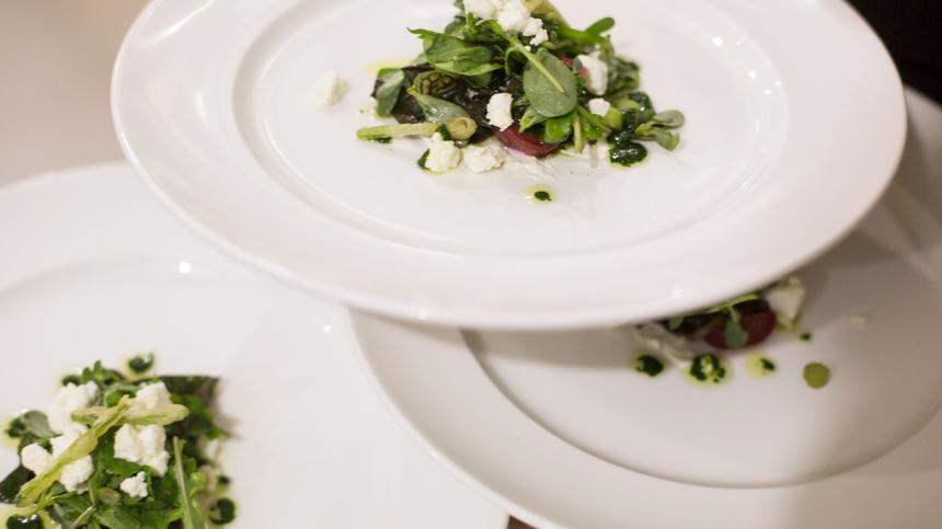 Green Bean and Arugula Salad