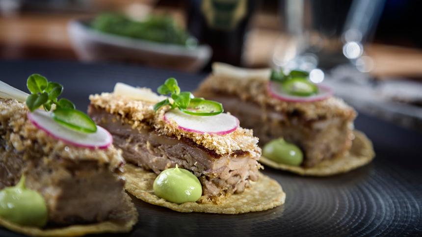 Chapulín's Pork Confit Tacos