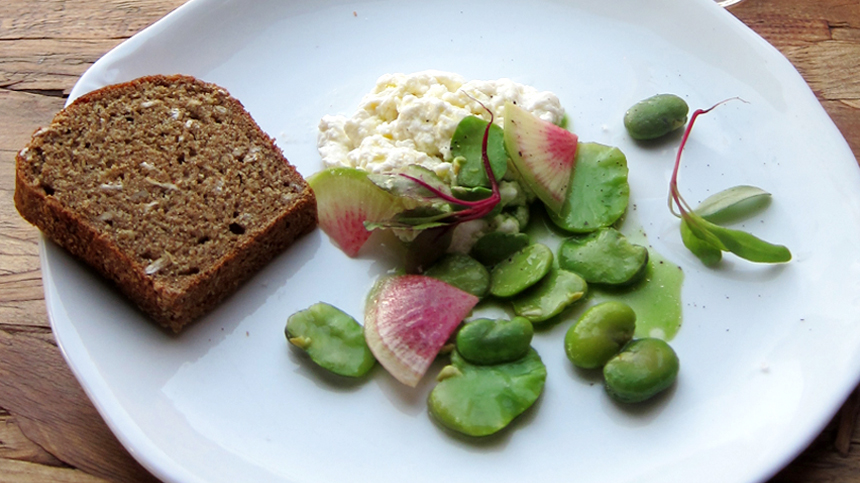 Ricotta and Beans
