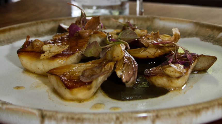Eduardo Garcia's Wild Mushrooms and Roasted Porcini