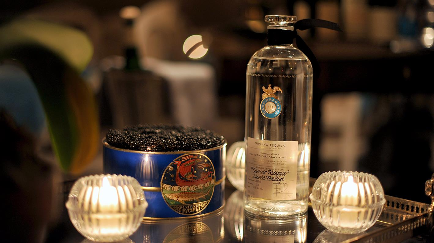 Imperial Baeri Caviar & Tequila Casa Dragones By Spring Place