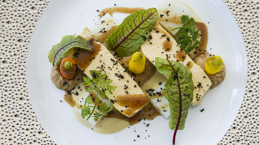 Turkey Breast with Onion Ash Sauce By St. Regis Hotel in Mexico City