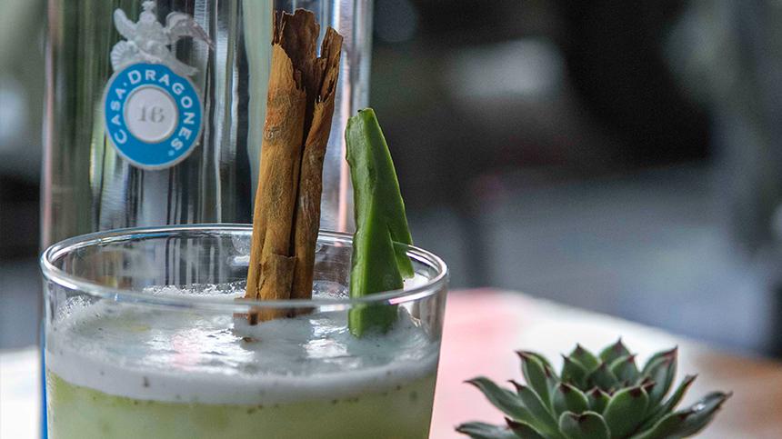Agua de Horchata al Tequila por Fabian Acuña