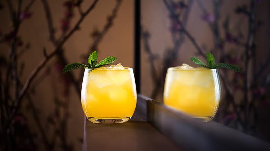 I love W.I.T.S 1Oth Anniversary Tangerine Tequila por Sam Clifton de Telepan