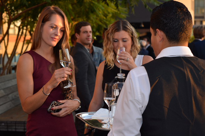 Tequila Casa Dragones en la 2015 Highline Art Dinner