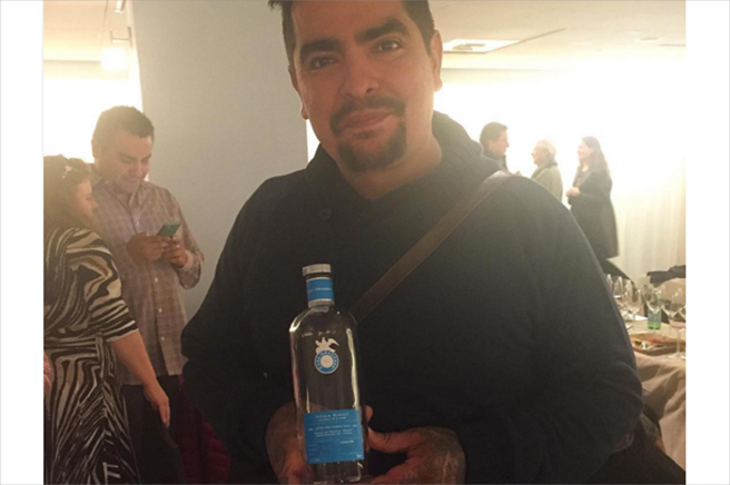Chef Aaron Sanchez en New York City Food & Wine Festival