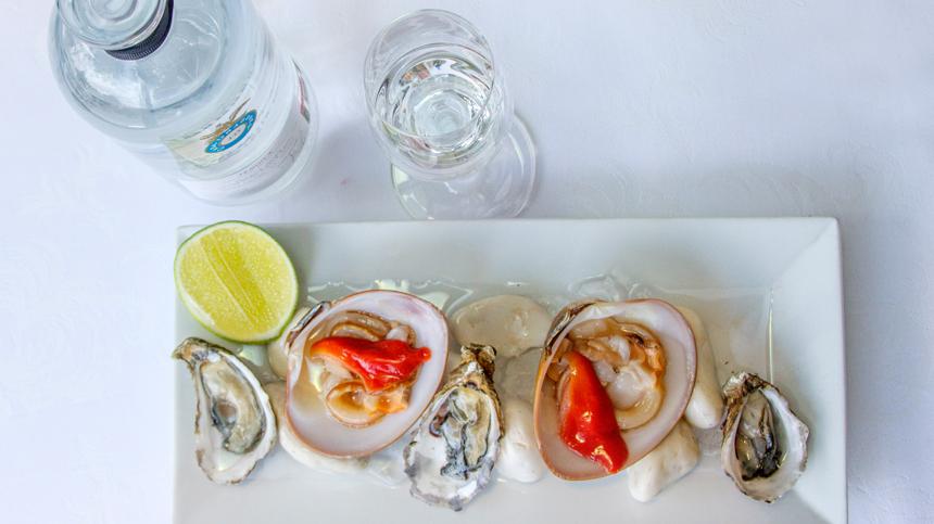 Tercio de ostras