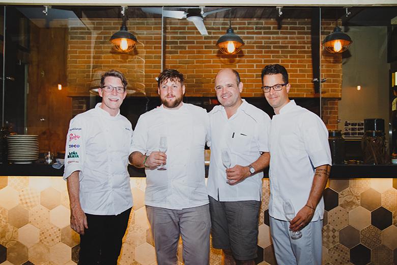 4 chefs por el 4 de julio en el Thompson Playa Del Carmen