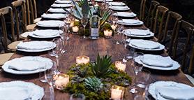 Segunda cena Maridaje en la mesa en San Miguel de Allende