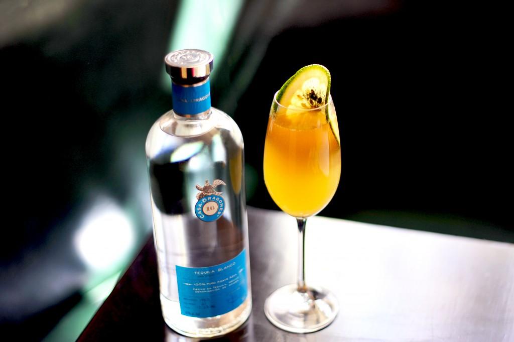 Champagne Margarita en Beatrice Inn