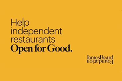 Let's keep restaurants Open for Good
