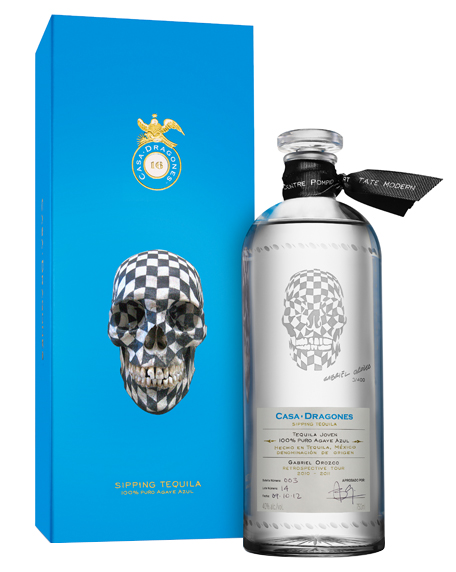 Gabriel Orozco Limited Edition Tequila Bottle
