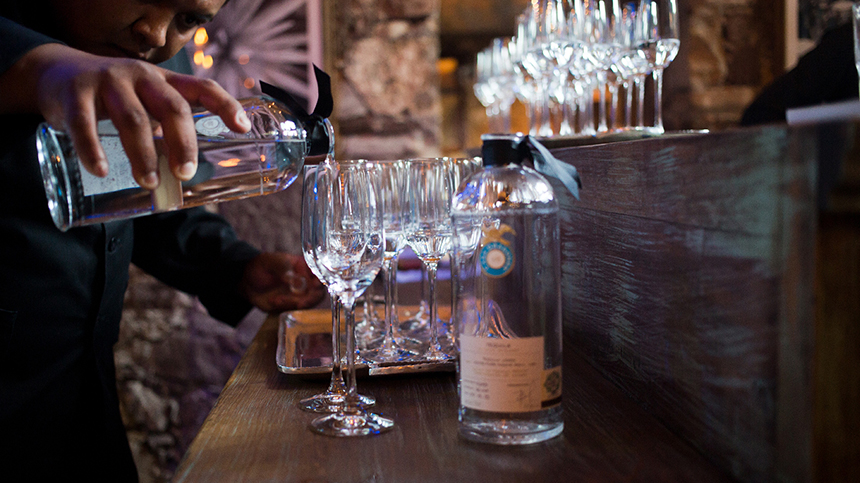 how to serve premium tequila