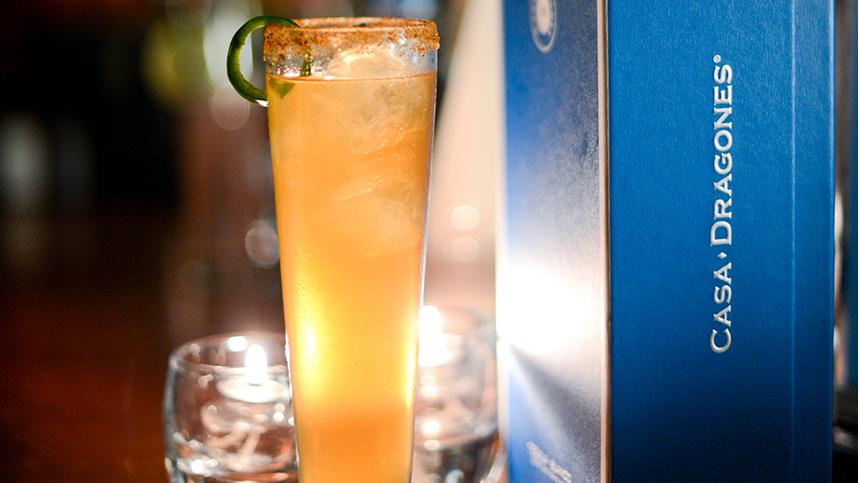 premium tequila drink
