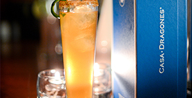 tequila cocktail : Michelada Primaverde