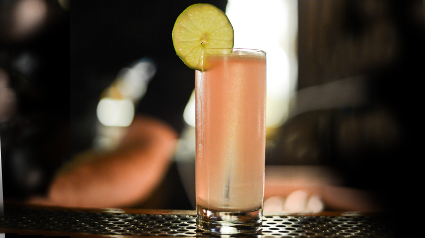 pink panther tequila cocktail