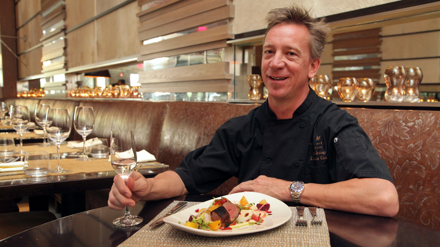 Chef Brasel pairs his Buffalo Tenderloin with Tequila Casa Dragones