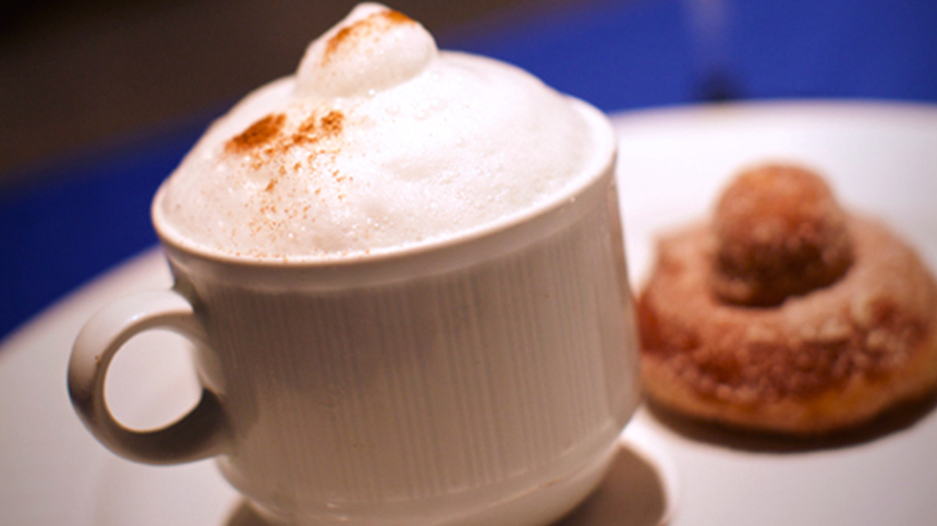 Cappuccino Semifreddo dessert