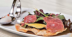 Lamb Carpaccio By Salvatore Tassa