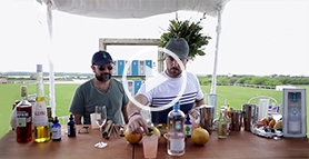 Jim Meehan and Enrique Olvera show how to mix their original tequila cocktail