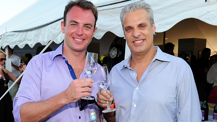 Eric Ripert ar Great Chefs Dinner - Hamptons