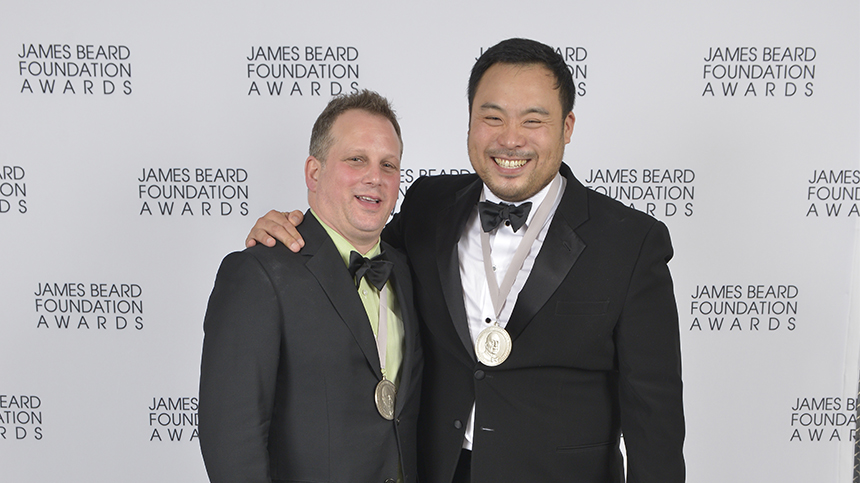 David Chang and Paul Kahan James Beard Foundation Awards 2013