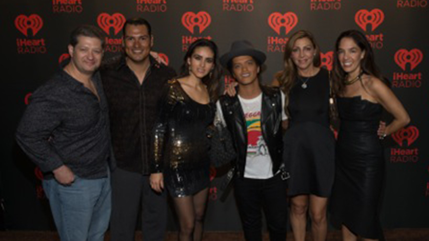 Bruno Mars at iheartradio festival 2013