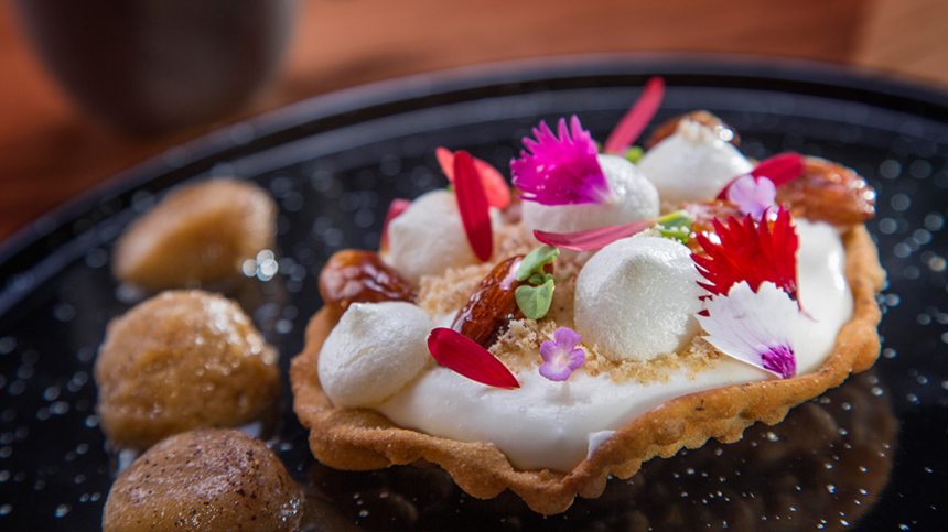 original tequila food pairings: bunuelos de quesillo
