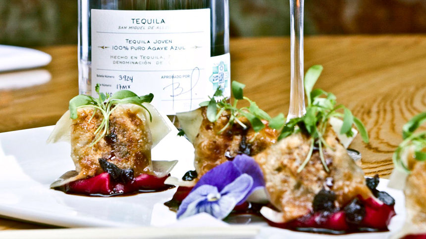 Tequila Food Pairing - Kobe Gyozas