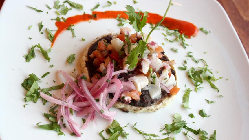 Panuchos de Pulpo en Escabeche - Tequila Food Pairing