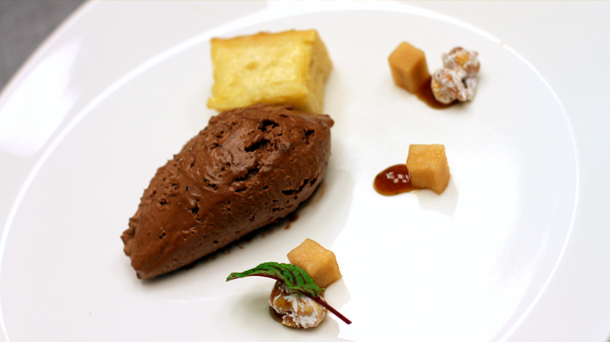 Valrohna Chocolate Mousse
