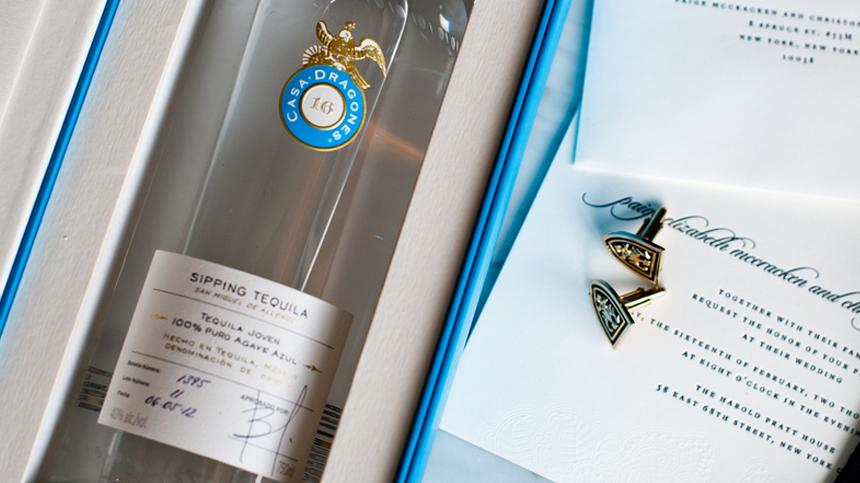 Groom Gift Bottle Of Tequila