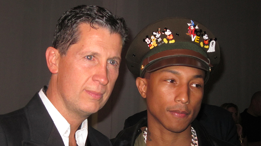 Pharrell Williams at Art Basel 2011 Casa Dragones Tequila