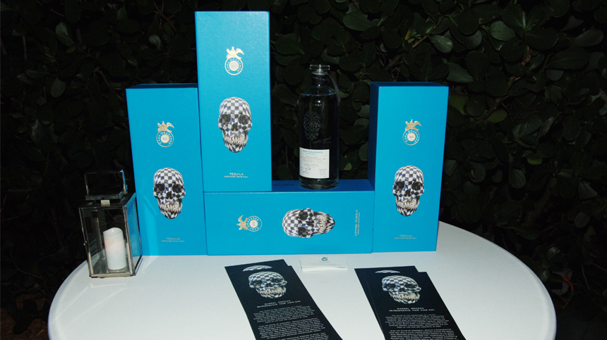 Gabriel Orozco Limited Edition Tequila at Art Basel Miami Beach 2012