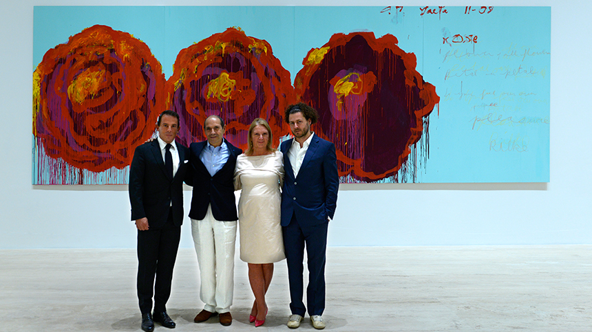 Cy Twombly Paradise Casa Dragones Tequila