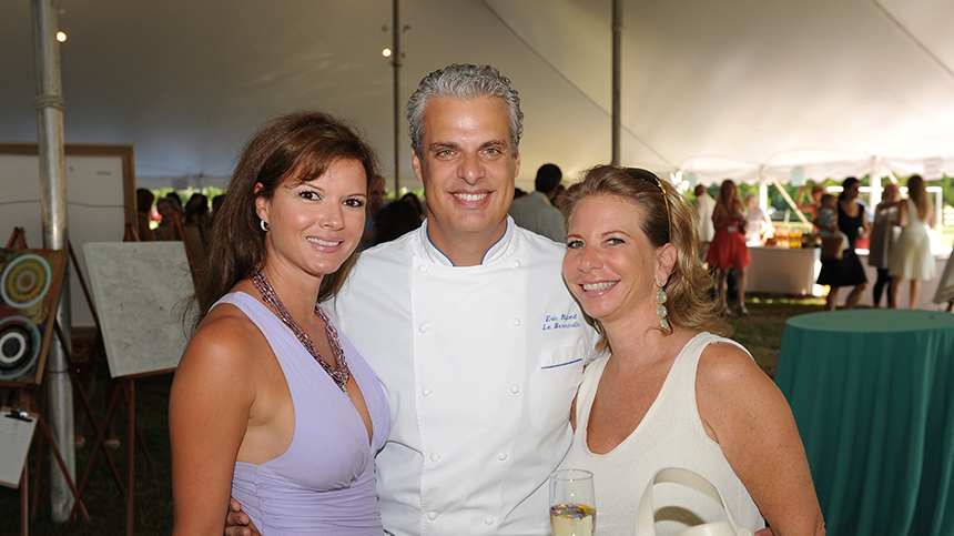 Eric Ripert at Great Chefs Dinner 2010 Casa Dragones Tequila