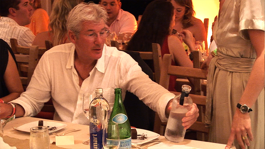 Richard Gere With Casa Dragones Tequila
