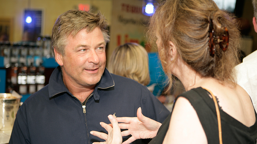 Alec Baldwin at Casa Dragones Tequila Hamptons Launch