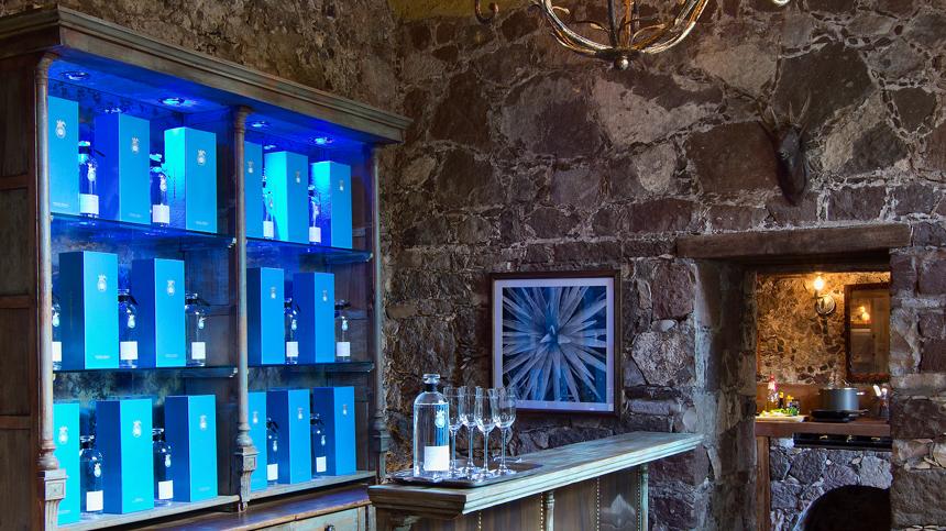 La Casa Dragones With Bottles Of Casa Dragones Tequila