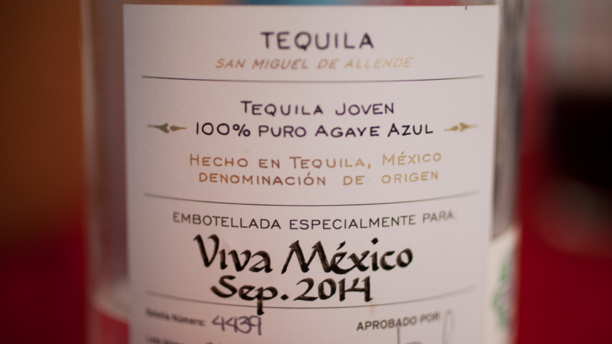 Mexican Independence Day Tequila