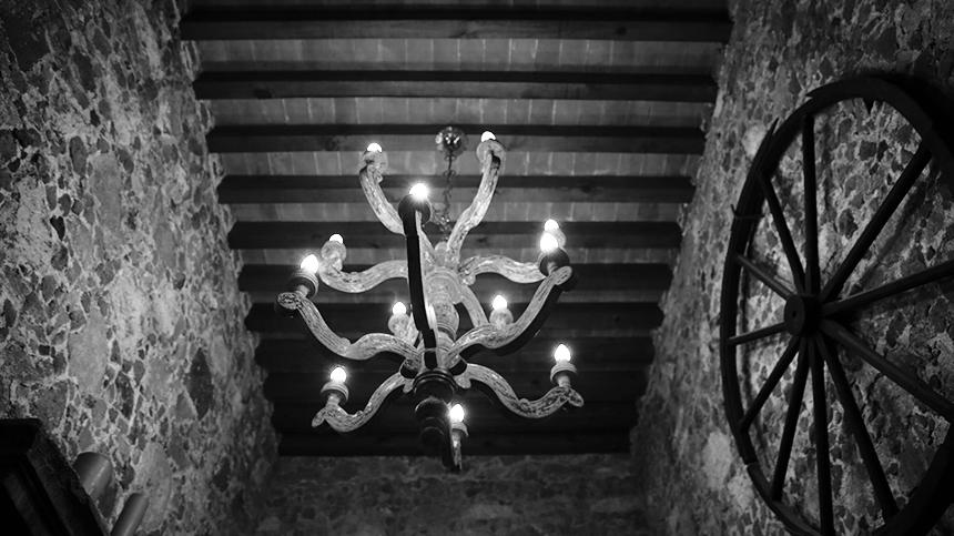 La Casa Dragones stables chandelier Casa Dragones Tequila
