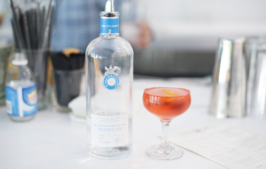 Casa Dragones Joven Tequila Cocktail