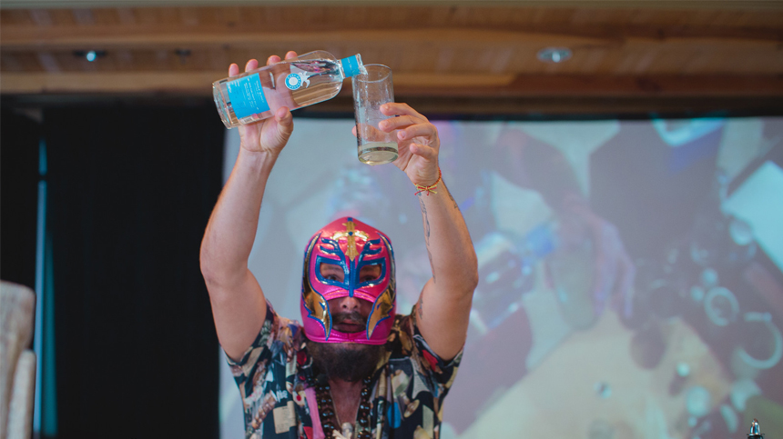 Tequila Casa Dragones At The Art of Taste Festival 2015