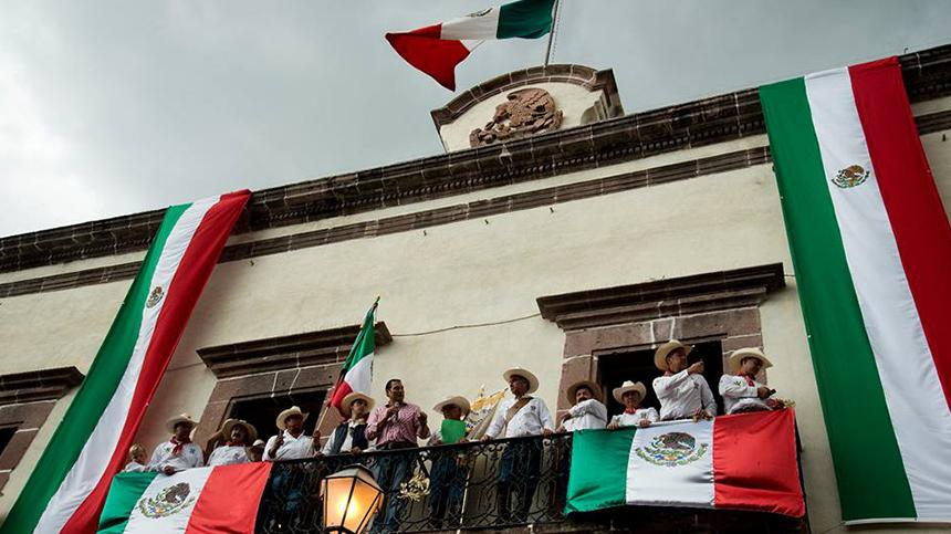 Cabalgata Historica, Mexico 2015