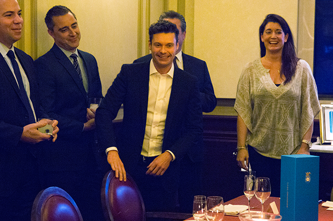 An Elegant Dinner with Ryan Seacrest