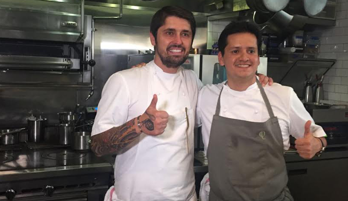 """2 Chefs"" Dinner Series by chefs, Ludo Lefebvre and Jorge Vallejo"