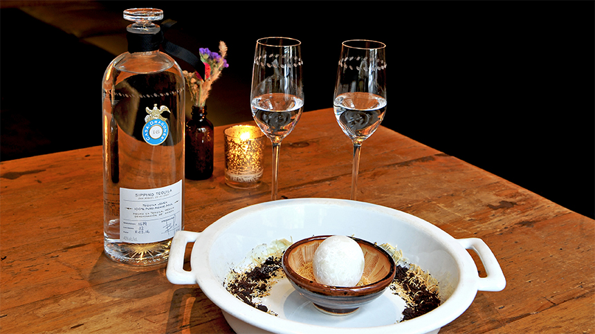 The Egg by Marc Forgione